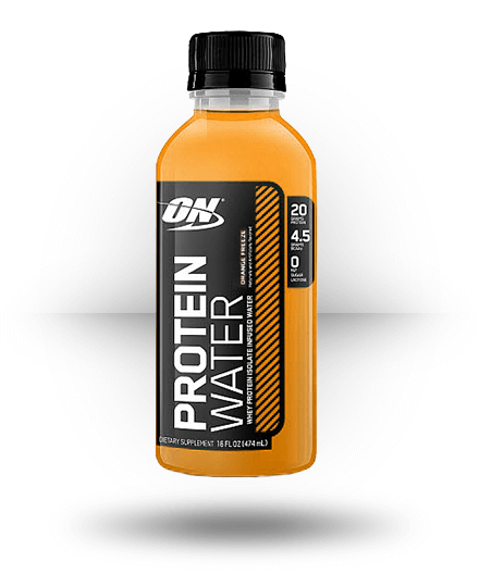 Optimum Nutrition Protein Water Orange Freeze 12 x 16 oz Bottles