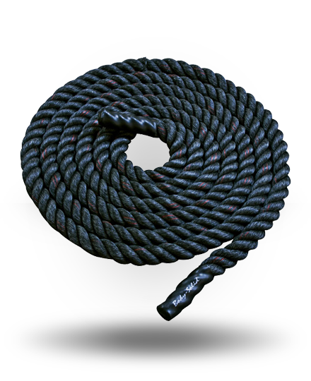 "Body-Solid Fitness Training Rope 2"" x 30'"