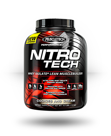 MuscleTech Nitro-Tech Cookies and Cream 41 Servings