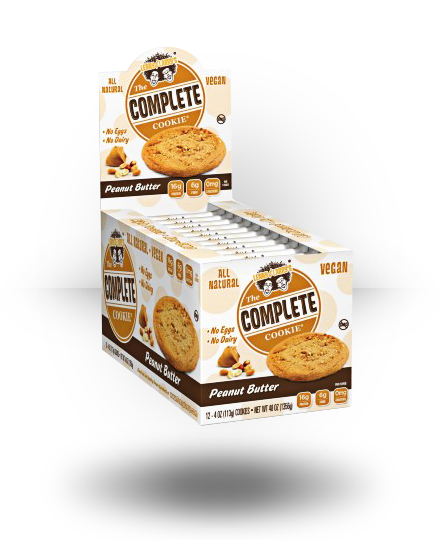 Lenny & Larry's All-Natural Complete Cookie Peanut Butter 12 ea