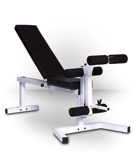York Pro Series 210 Package (205 FI Bench & 202 Leg Curl) White