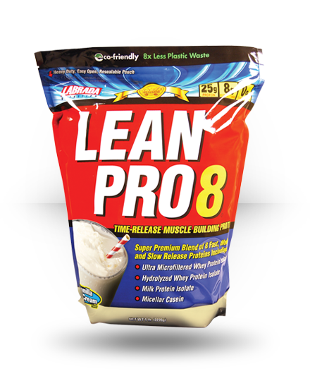Labrada Nutrition Lean Pro8 Vanilla Ice Cream 5 lb