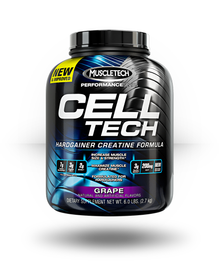 MuscleTech Performance Series Cell-Tech Grape 6 lb