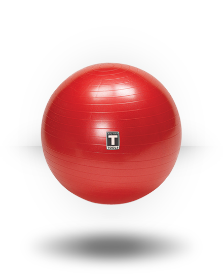 Body-Solid Exercise Ball Red 65 cm