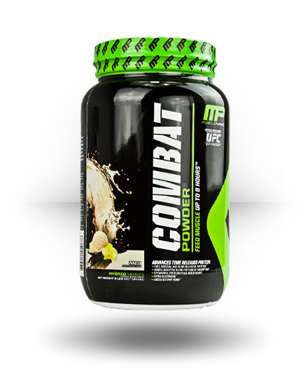 MusclePharm Hybrid Series Combat Powder Vanilla 2 lb