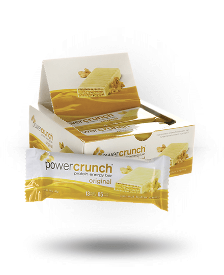 Power Crunch Original Protein Energy Bar Peanut Butter Creme 12 x 1.4 oz Bars