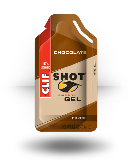 Clif Shot Energy Gel Chocolate 24 ea