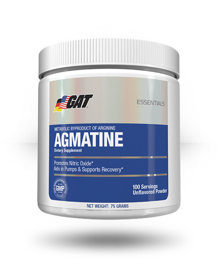 GAT Agmatine Unflavored, 100 Servings