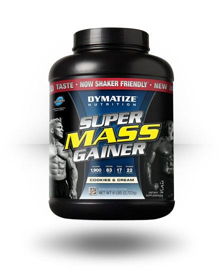 Dymatize Super Mass Gainer Cookies and Cream 6 lb