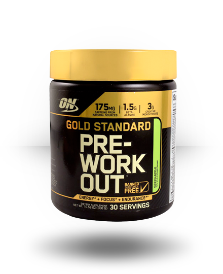 Optimum Nutrition Gold Standard Pre-Workout Green Apple 30 ea