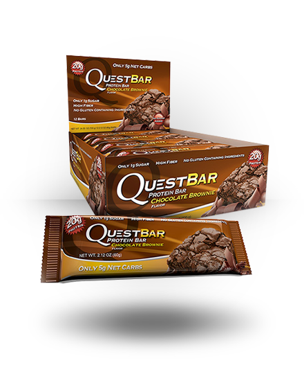 Quest Nutrition Quest Protein Bar Chocolate Brownie 12 ea
