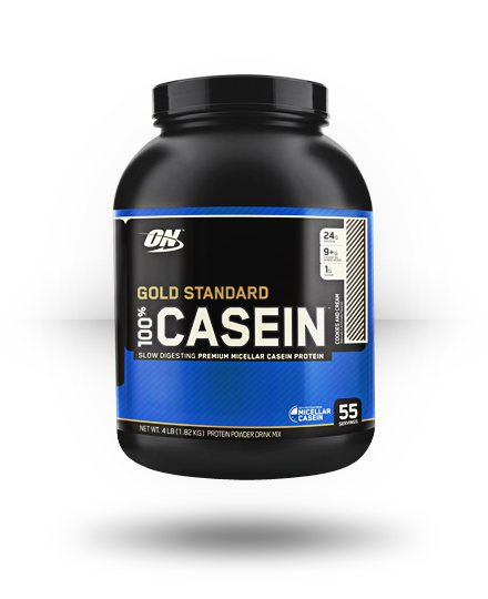 Optimum Nutrition Gold Standard 100% Casein Cookies and Cream 4 lb