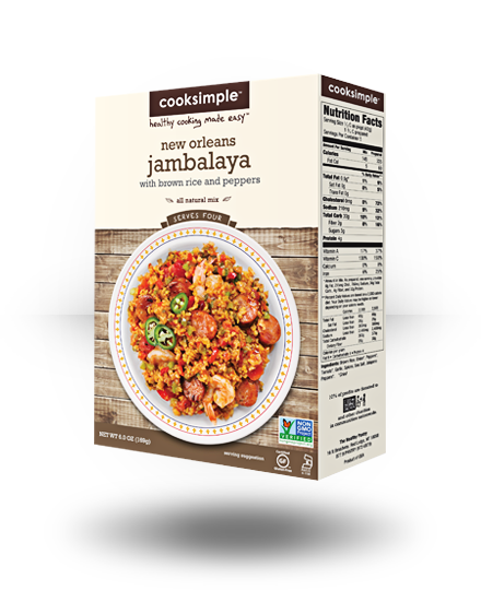 Cooksimple New Orleans Jambalaya