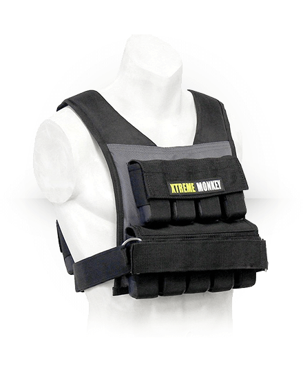 Xtreme Monkey Commercial Micro Adjustable Weighted Vest 45 lb
