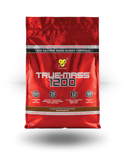 BSN True Mass 1200 Chocolate Milkshake 10.25 lb