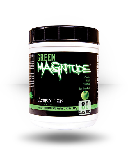 Controlled Labs Green MAGnitude Sour Green Apple 80 Servings