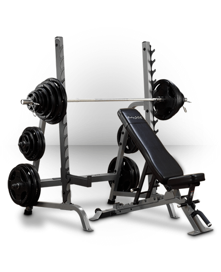 Body-Solid Pro Clubline Olympic Press System
