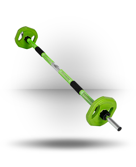 Lebert Fitness SRT Barbell Lime