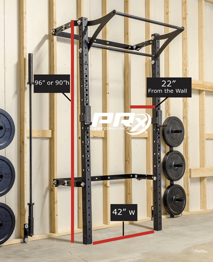 3x3 Profile Rack with kipping bar