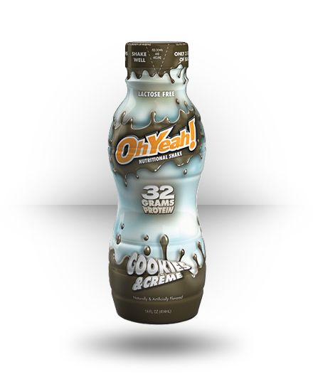ISS OhYeah! Protein Shake RTD Cookies & Creme 12 ea