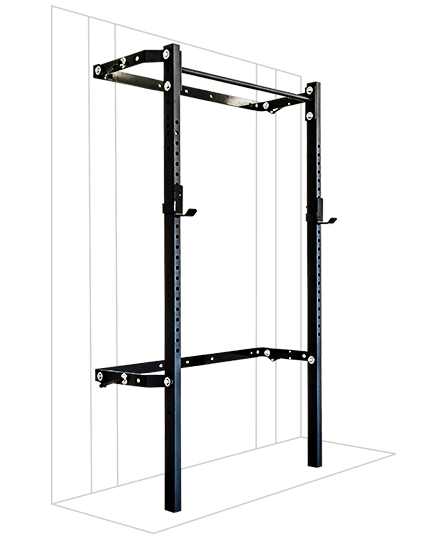 PRX Performance 2x3 Profile Rack with single bar Black Oynx
