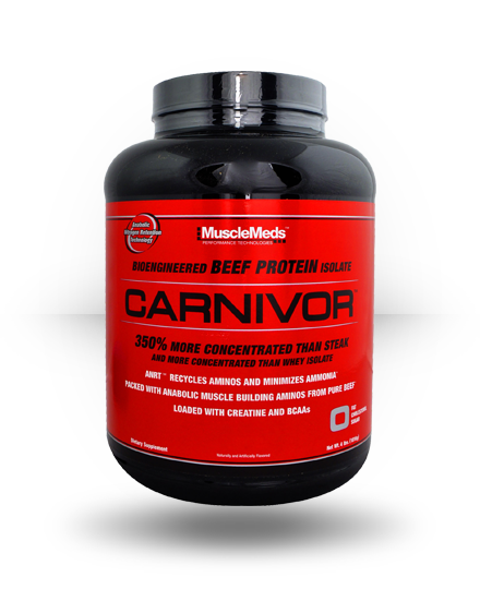 Muscle Meds Carnivor Strawberry 4 lb