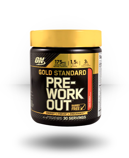 Optimum Nutrition Gold Standard Pre-Workout Fruit Punch 30 ea