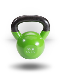 Body-Solid Vinyl Coated Kettlebell 30 lb