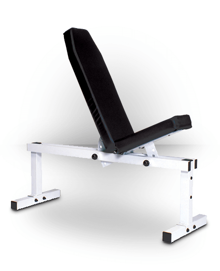 York Barbell Pro Series 305 FI Bench (Front Adjustable Back Adjustable) White