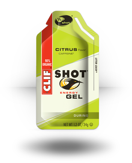 Clif Shot Energy Gel Citrus 24 ea