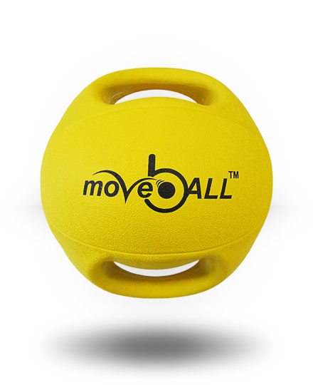 moveBALL Transform 4 kg Yellow