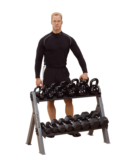 Dumbbell / Kettlebell Rack