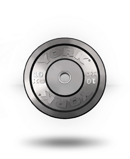 York Solid Rubber Training Bumper Plate (kg) 10 kg