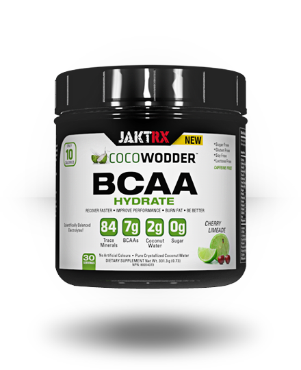 JAKT RX CocoWodder BCAA Hydrate Cherry Limeade