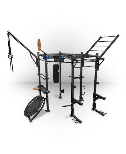 Body-Solid Pro Hexagon Rig Club Pack