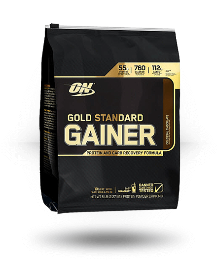 Optimum Nutrition Gold Standard Gainer Colossal Chocolate 5 lb