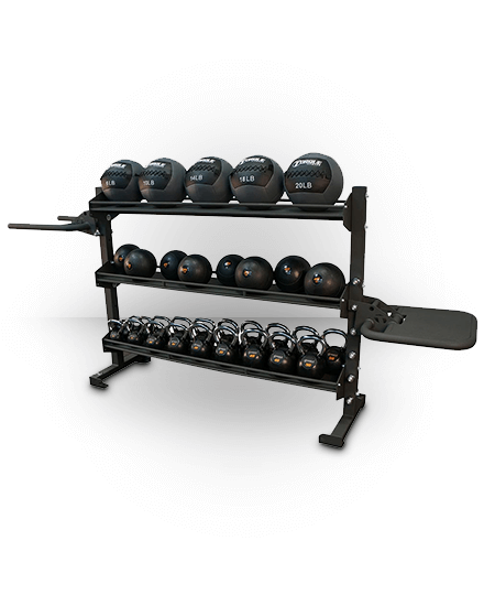 Torque Fitness 6 Foot Universal Storage/Dip/Plyo Rack