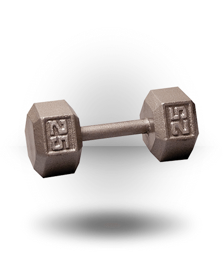 Body-Solid Hex Dumbbell 25 lb