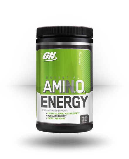 Optimum Nutrition Essential Amino Energy Green Apple 30 ea