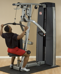 Pro Dual Vertical Press and Lat Station