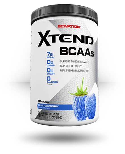 Scivation Xtend Raspberry Blue 30 ea