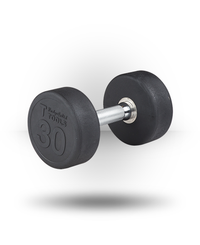 Body-Solid Rubber Pro-Style Dumbbell 30 lb