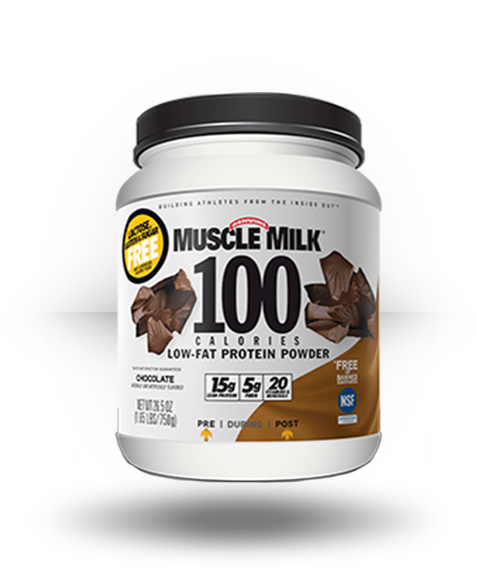 CytoSport Muscle Milk 100 Calories 2-pack Chocolate 1.65 lb