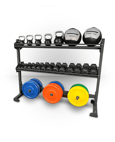 Torque Fitness 6 Foot Combination Storage Rack