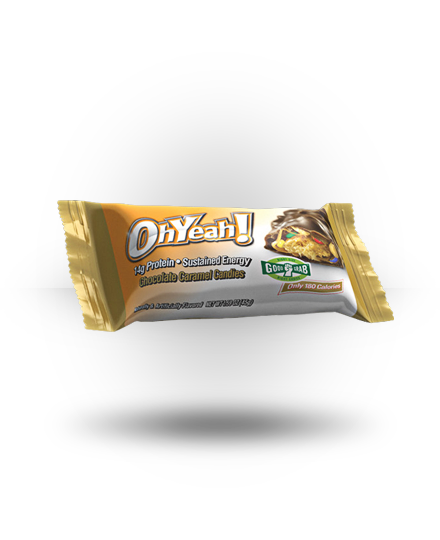 ISS OhYeah! Bar Chocolate Caramel Candies 12 ea 45g