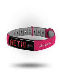 Sigma Activo Activity Tracker Berry/Grey