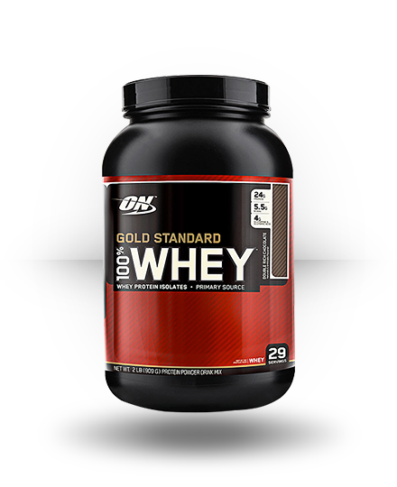 Optimum Nutrition Gold Standard 100% Whey Double Rich Chocolate 2 lb