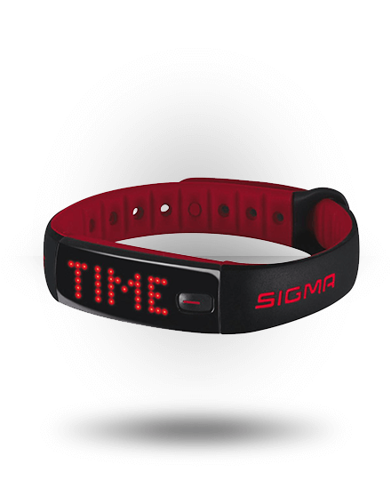 Sigma Activo Activity Tracker Black/Red