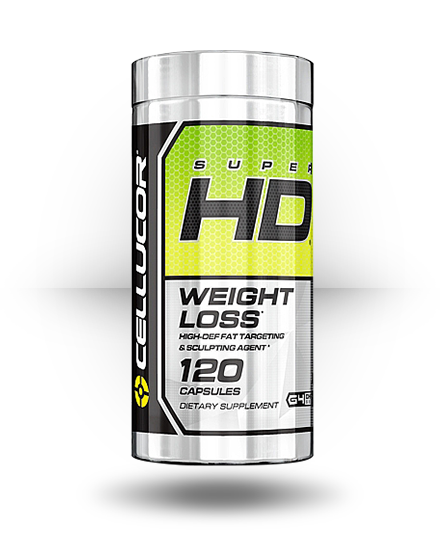 Cellucor Super HD 120 Capsules