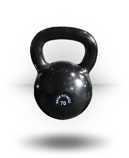 Rage Fitness Rage Kettlebell Cast Iron 70 lb